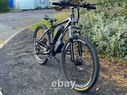 Supreme eBikes Bicycle 36v 2ah Electric Assisted Mountain E Bike 26/17 Black