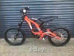 Sur-Ron Electric Bike Red