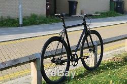 TEMAN Brand new Single Speed Fixed Gear fixie Road Bike Flip Flop hub bicycles