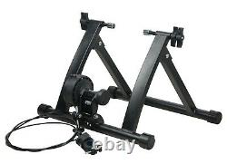 Trainer Exercise Bike Stand Indoor Portable Magnetic 6 Level Resistance Training