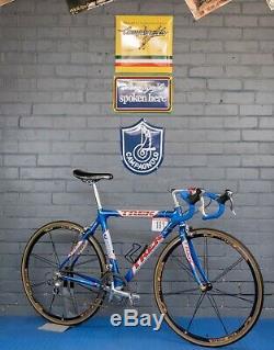 Trek OCLV 1999 Lance Armstrong US Postal Team Replica 52cm Dura Ace Cinelli RARE