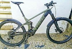 Trek Rail 5 XL Mountain Bike ebike emtb, 278 mostly road miles! +625wh New Batt