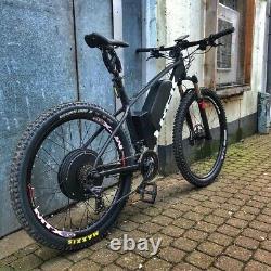 UK 72V 3000W Electric Bicycle Rear Hub Motor Conversion Kit E-Bike Wheel