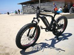 VTUVIA NEW SN100 Fat Tire Electric Bike All Road Ebike Bicycle 35km-45km/h