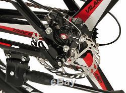 Vilano 26 Mountain Bike Ridge 2.0 MTB 21 Speed with Disc Brakes
