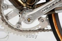 Vintage 1983 COLNAGO ARABESQUE n56 30th ANNIVERSARY 10 GOLDEN ACES Campa group