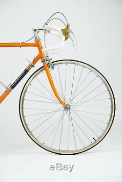 Vintage Colnago Super Pantografata 1973 Bicycle Original Paint in Molteni Orange