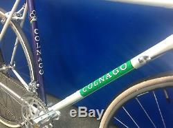 Vintage Colnago road bike steel classic retro road racing bike Columbus Dura ace