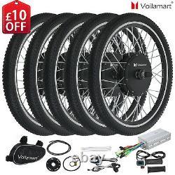 Voilamart 250W 1000W 26 Electric Bicycle E Bike Conversion Kit Front Rear Wheel