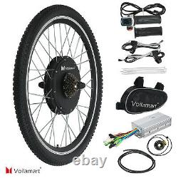 Voilamart 261000W Electric Bicycle Motor Conversion Kit Bike Cycling Rear Wheel