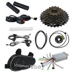 Voilamart 36V500W Rear Electric Bicycle E-Bike Wheel Conversion Kit 26 Clying