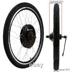 Voilamart 48V1000W Electric Bicycle E-Bike Rear Wheel Waterproof Conversion Kit