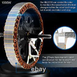 Voilamart Front/Rear Electric E-Bike Wheel 26Conversion Kit 250/500/1000W