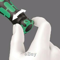 WERA 1/4 Calibrated Click Torque A5 Wrench Spanner, 2 To 25Nm Cycle, Motor, 075604
