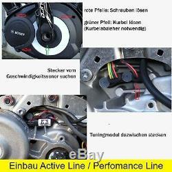 Wiesel E-Bike Tuning für alle Bosch Active Line Perfomance Line CX eBikes
