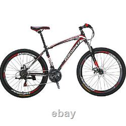 X1 27.5 Mountain Bike Shimano 21 Speed Mens Bicycle Front Suspension MTB Sales